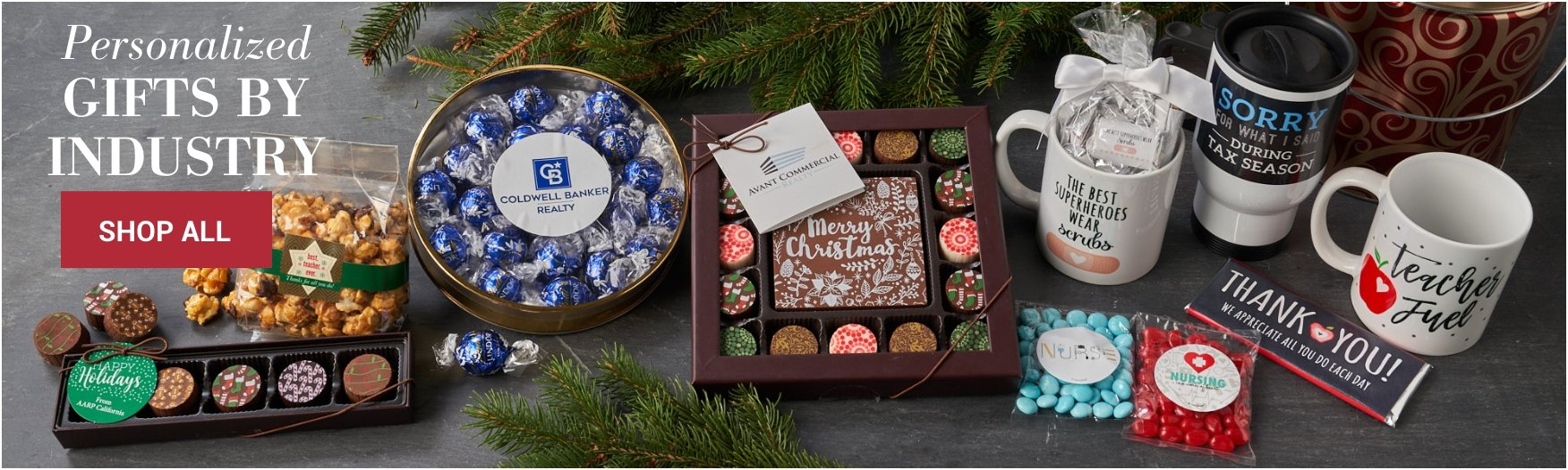 personalized gifts by industry
