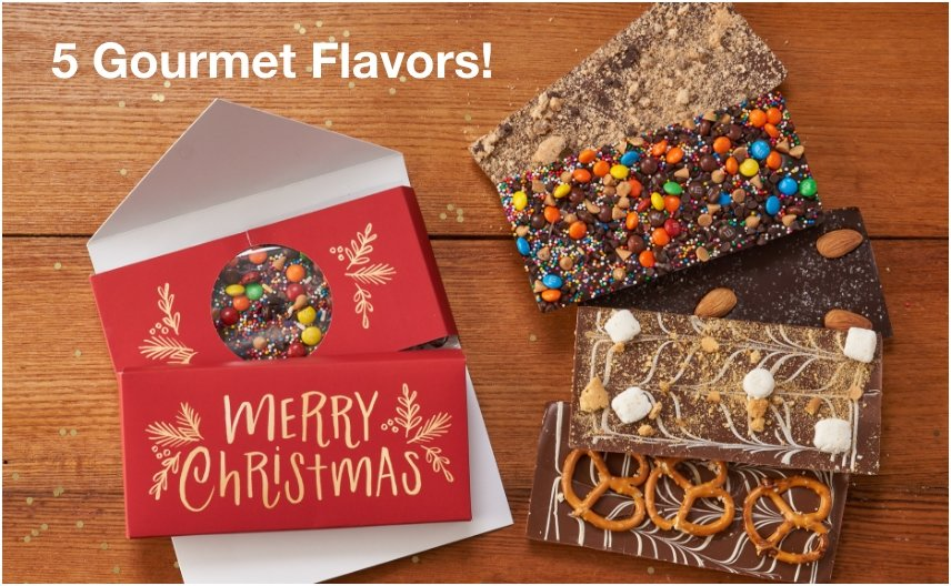 PERSONALIZED GOURMET INFUSED CHOCOLATE BARS