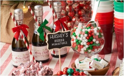 PERSONALIZED HOLIDAY BOTTLE LABELS