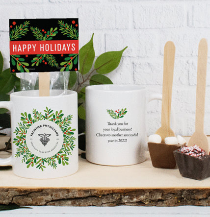 Personalized Holiday Hot Chocolate Gifts