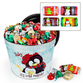 Baby It's Cold Outside 14 lb Hershey's Holiday Mix Tin