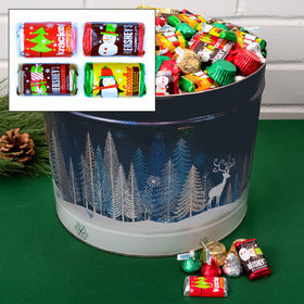 Crystal Evening 10 lb Hershey's Holiday Mix Tin