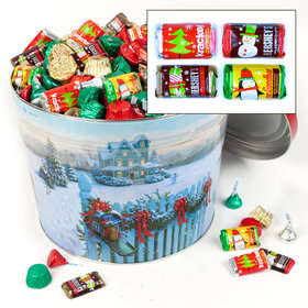 Christmas Mail 14 lb Hershey's Holiday Mix Tin