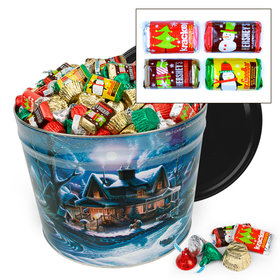 First Homecoming 14 lb Hershey's Holiday Mix Tin