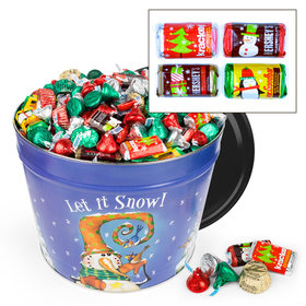 Frosty Friends 14 lb Hershey's Holiday Mix Tin