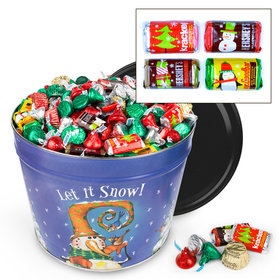 Frosty Friends 10 lb Hershey's Holiday Mix Tin