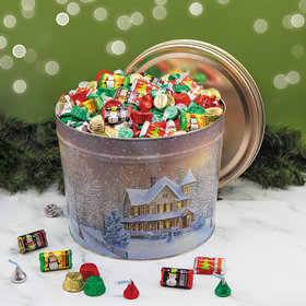 Home for the Holidays 10 lb Hershey's Holiday Mix Tin