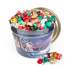 Sweet Winter 14 lb Hershey's Holiday Mix Tin