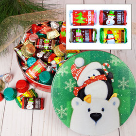 Cold But Cozy 1 lb Hershey's Holiday Mix Tin