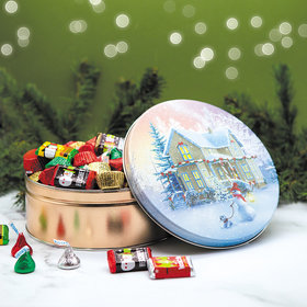 All Decked Out 2 lb Hershey's Holiday Mix Tin