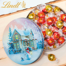 All Decked Out Christmas Gift Tin Lindt Truffles (45pcs)