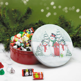 Snow Family 2 lb Hershey's Holiday Mix Tin