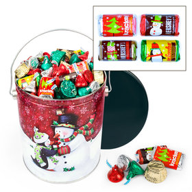 Penguin Present 5lb Hershey's Holiday Mix Tin