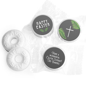 Personalized Easter Botanical Bible Verse Life Savers Mints