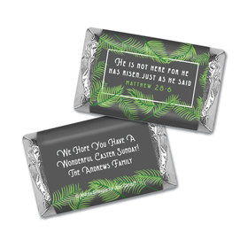 Personalized Easter Botanical Bible Verse Hershey's Miniatures