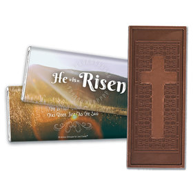 Personalized Easter Divine Scenery Embossed Chocolate Bars