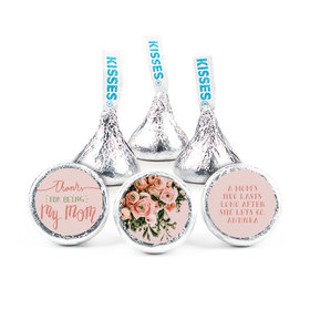 Personalized Mother's Day Thank You Bouquet Hershey's Kisses (50 pack)