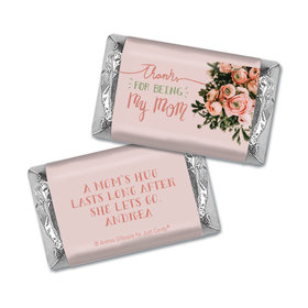 Personalized Mother's Day Thank You Bouquet Hershey's Miniatures Wrappers
