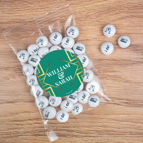 Personalized Classic Wedding Candy Bags with JC Chocolate Minis