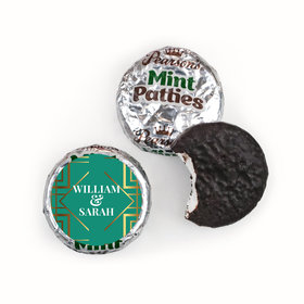 Personalized Wedding Classic Pearson's Mint Patties