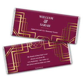 Personalized Wedding Classic Chocolate Bar & Wrapper