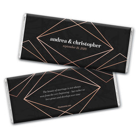 Personalized Wedding Growing Love Chocolate Bar Wrappers