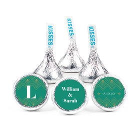 Personalized Wedding Lace & Love Hershey's Kisses (50 pack)