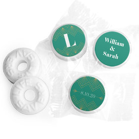 Personalized Wedding Lace & Love LifeSavers Mints