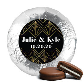 Personalized Wedding Lace & Love Chocolate Covered Oreos