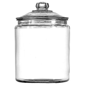 1 gallon Heritage Hill Jar with Glass Lid