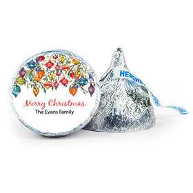 Personalized Christmas Ornaments 7oz Giant Hershey's Kiss