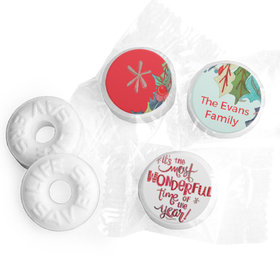 Personalized Christmas Wonderful Time Life Savers Mints