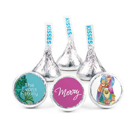 Personalized Christmas Wise Men Hershey's Kisses (50 pack)