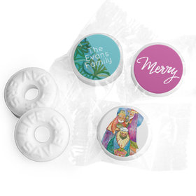 Personalized Christmas Wise Men Life Savers Mints