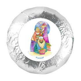 "Personalized Christmas Wise Men 1.25"" Stickers (48 Stickers)"