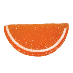 Orange Fruit Jelly Slices