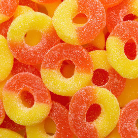 Peach Gummi Rings
