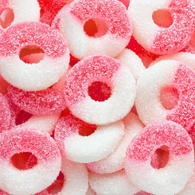 Sour Watermelon Gummi Rings