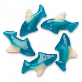 Blue Shark Gummi