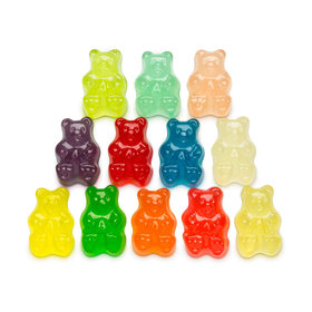 Assorted Flavor Gummi Bears -12 flavors