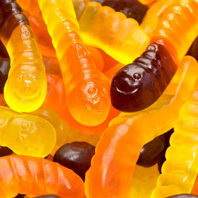 Halloween Mini Gummi Worms