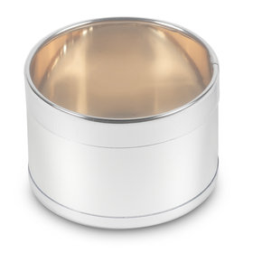 Medium Silver Round Tin (50 Pack)