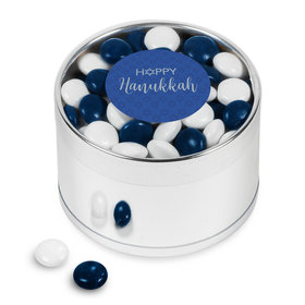 Happy Hanukkah Chocolate Minis Plastic Tin