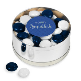 Happy Hanukkah Chocolate Minis Small Plastic Tin