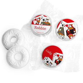 Birthday Playing Cards Personalized Mints