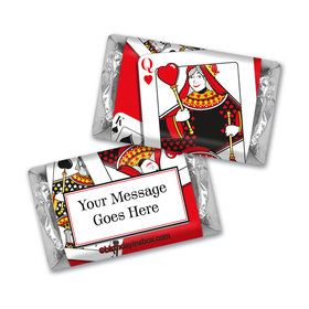 Birthday Playing Cards Personalized Hershey's Miniatures