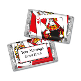 Birthday Playing Cards Personalized Hershey's Miniatures Wrappers