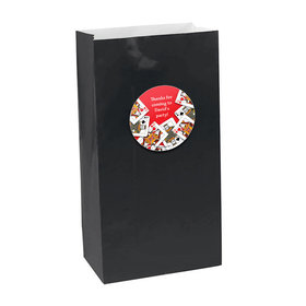 Casino Party Personalized Paper Favor Bags (set of 12)
