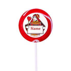 "Casino Party Personalized 2"" Lollipops (24 Pack)"