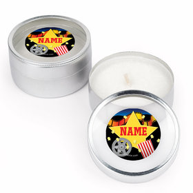 Movie Party Personalized Candle (Set of 12)